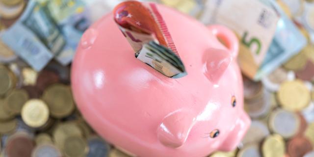 Nederlanders hebben weinig vrij beschikbaar spaargeld