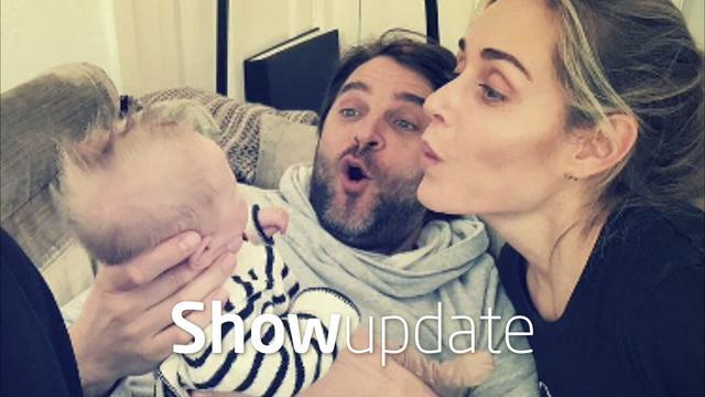 Show Update: Sophie en Xander de Buisonjé genieten volop van baby
