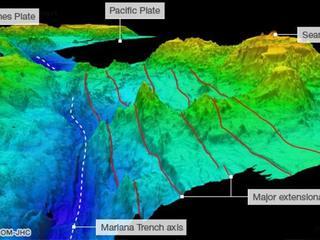 Volop geluiden te horen in 11 kilometer diepe Marianentrog