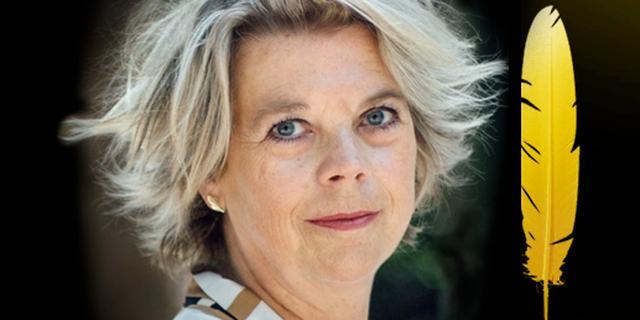 Literatuurcriticus en auteur Margot Dijkgraaf winnaar De Gouden Ganzenveer