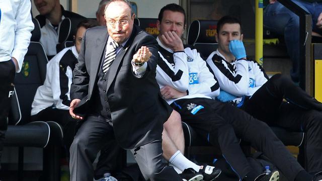 Benitez blijft als trainer bij gedegradeerd Newcastle United