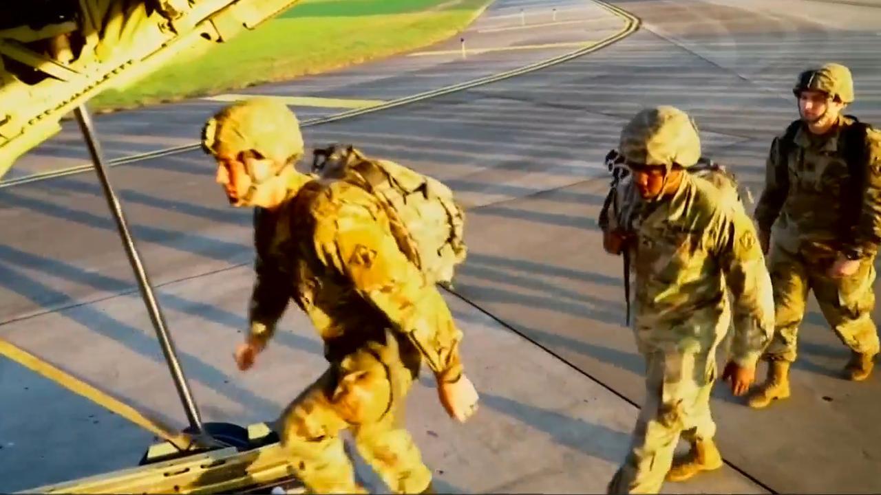 Militairen VS naar Mexicaanse grens om migrantenkaravaan