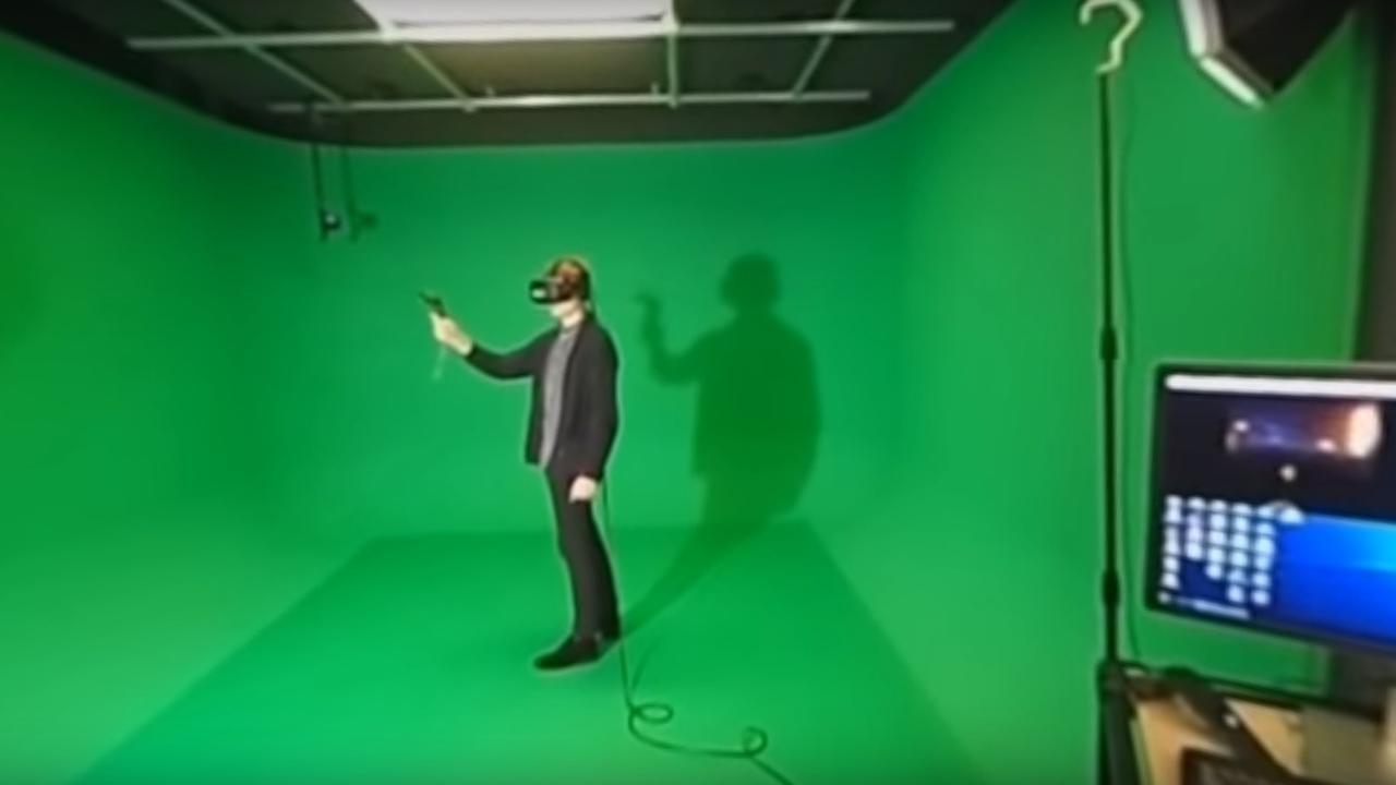 Kantoor Force Field in VR
