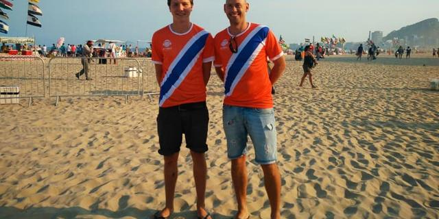 Utrechts Bossaballteam speelt toernooi tijdens Olympische Spelen