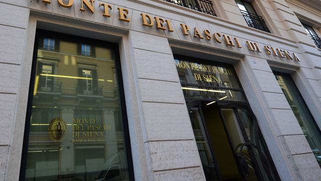Italiaanse bank Monte dei Paschi schrapt 2.600 banen