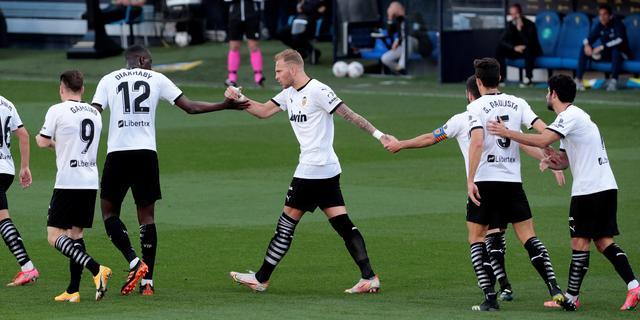 Spelers Valencia stappen tijdelijk van het veld na vermeend racisme