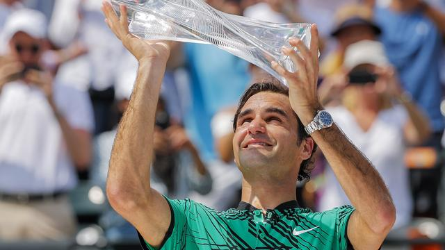 Federer in finale in Miami te sterk voor Nadal