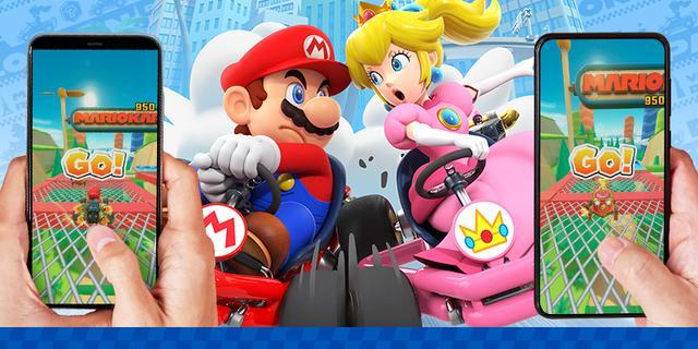Mario Kart-spelers kunnen op 9 maart via telefoon tegen elkaar spelen