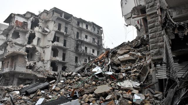 'Syrisch regeringsleger controleert heel Aleppo'
