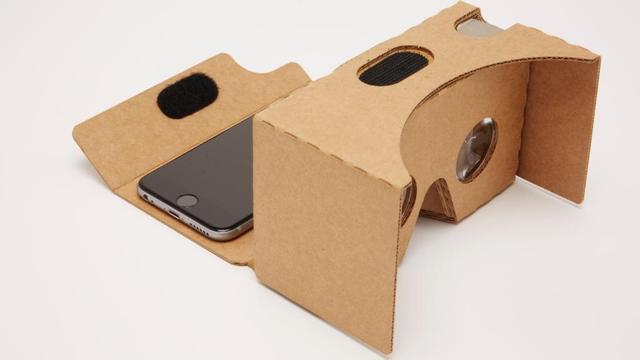 Kartonnen vr-bril Google wordt groter en komt naar iOS