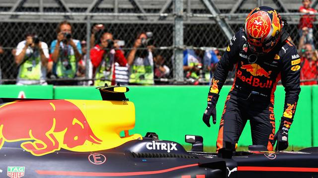 Verstappen grijpt net naast historische pole position in Mexico