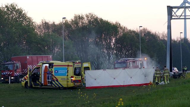 Oorzaak van eenzijdig ongeval op A1 bij Deventer niet te achterhalen