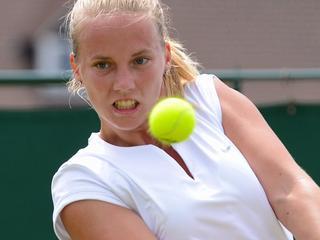23-jarige Doetinchemse wint op Wimbledon eerste Grand Slam-partij ooit