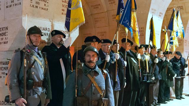 Honderden mensen herdenken begin slag om Verdun