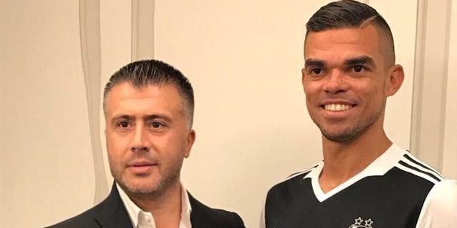 Pepe verruilt Real Madrid transfervrij voor Besiktas