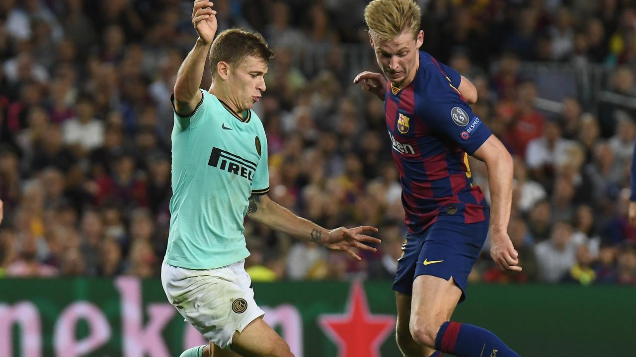 Samenvatting Barcelona-Internazionale (2-1)