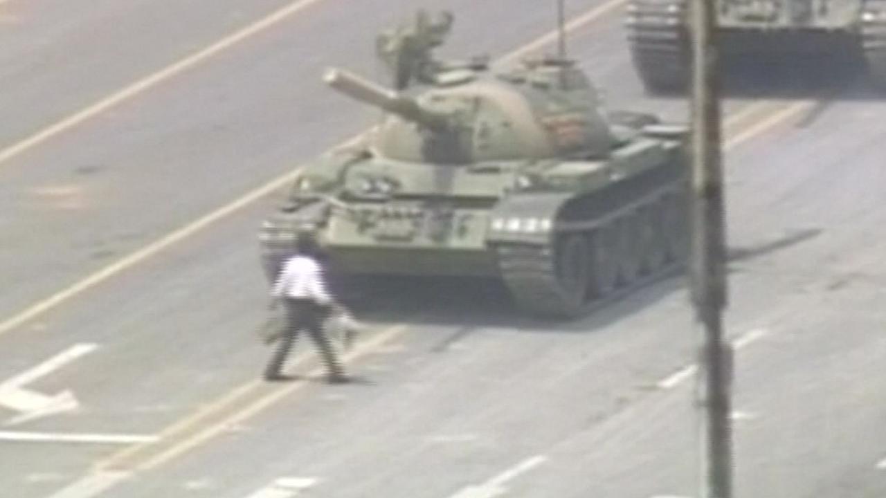 Studentprotest China 30 jaar geleden: 'Tankman' nog altijd onbekend