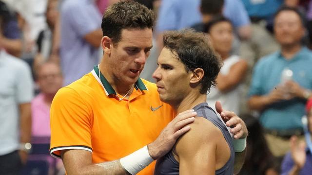 Del Potro profiteert van opgave Nadal en treft Djokovic in US Open-finale