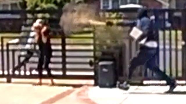 Vrouw bespoten met pepperspray door inbreker in LA