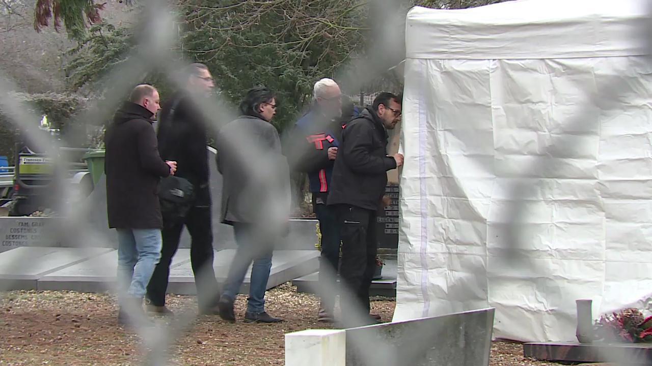 Graf in Maastricht onderzocht in verband met coldcasezaak