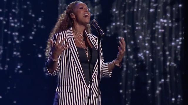 Glennis Grace zingt in halve finale America's Got Talent ballad met hoge noot