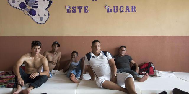 Duizenden Cubaanse migranten gestrand in Costa Rica