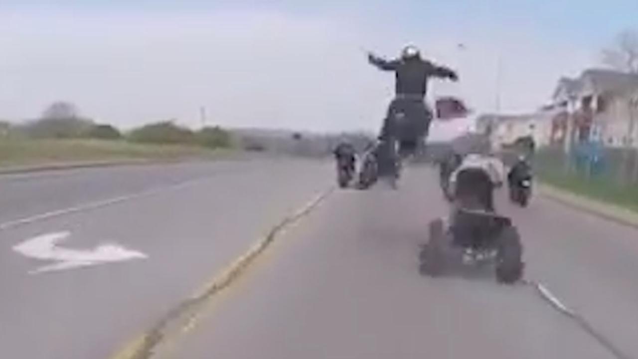 Motorrijder gelanceerd na botsing met quad in Nashville