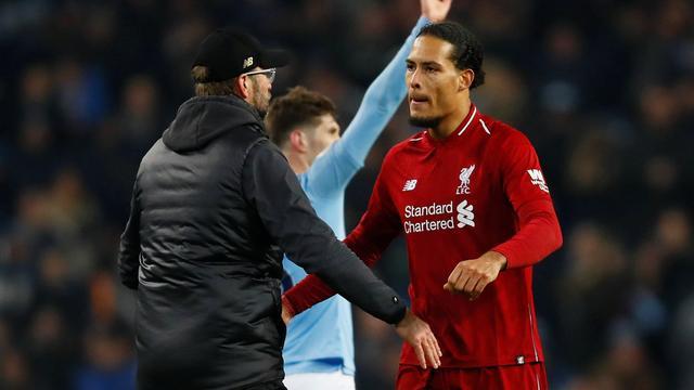 Van Dijk en Wijnaldum zien geen reden voor paniek na verlies Liverpool