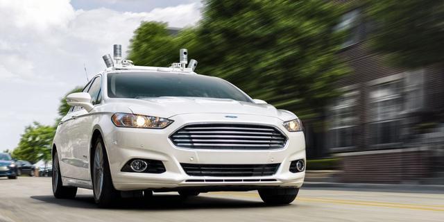 Ford investeert 1 miljard dollar in startup voor zelfrijdende auto's