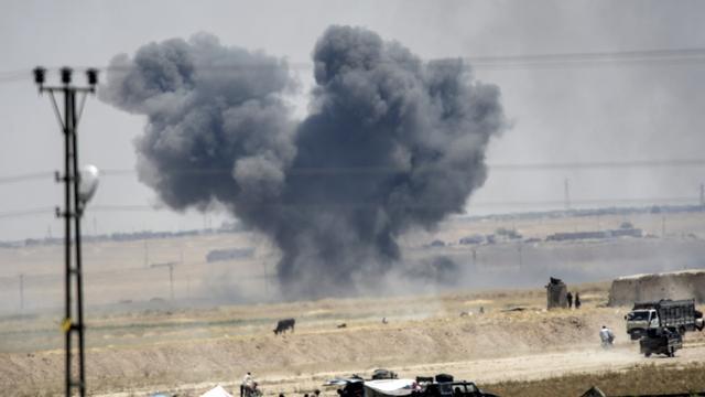 'Twee Serviërs gedood bij Amerikaans bombardement op IS'