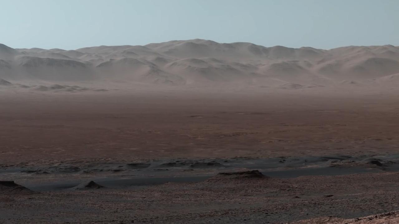 Marsverkenner stuurt enorme panoramafoto