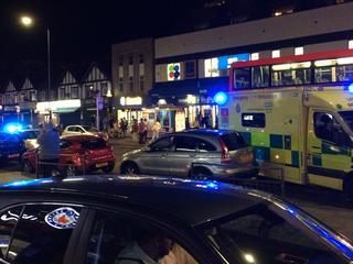 Hulpdiensten rukken uit voor incident vlak bij Wembley-stadion