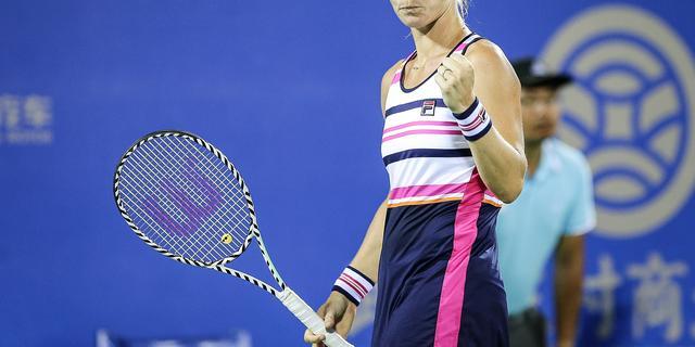 Bertens boekt zwaarbevochten zege in eerste ronde WTA-toernooi Peking