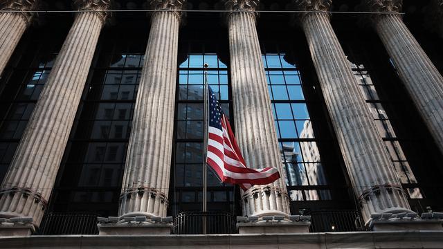 Wall Street countert banendip