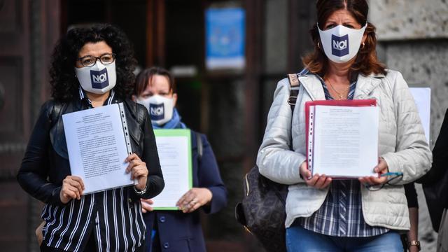 Families in Italiaanse brandhaard doen aangifte wegens aanpak coronacrisis