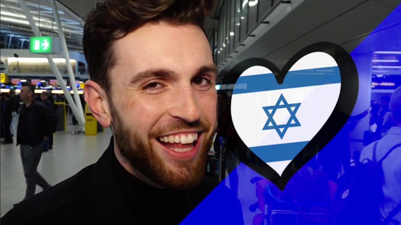 Duncan Laurence vertrekt naar Israël: 'Laat kritiek maar komen'