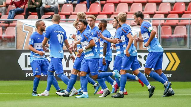 Pec Zwolle During The First Half To Lead Fc Utrecht News