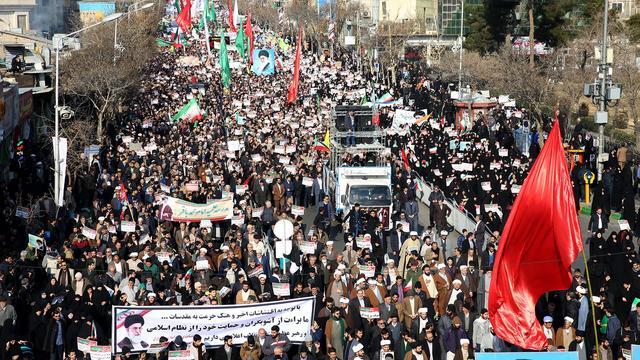 Politie Iran arresteert 3.700 mensen bij demonstraties tegen regering