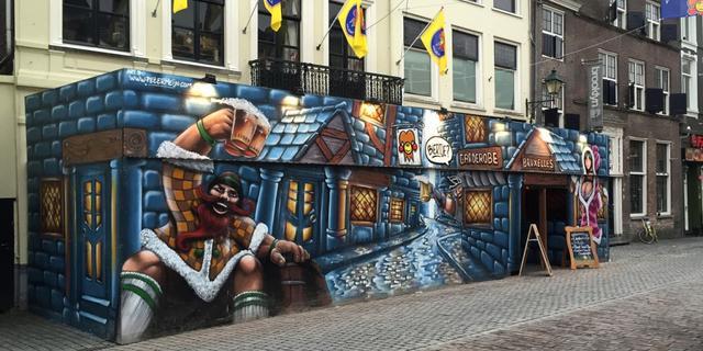 Cafés in de binnenstad maken zich op voor carnaval (video)