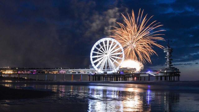 Spanje wint opnieuw groot vuurwerkfestival Scheveningen
