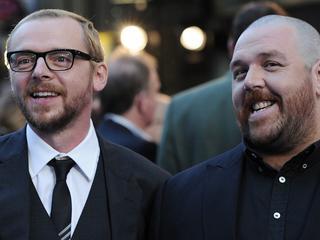 Duo bekend van films als Hot Fuzz en Shaun of the Dead