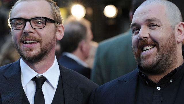Simon Pegg en Nick Frost werken aan horror-komedieserie