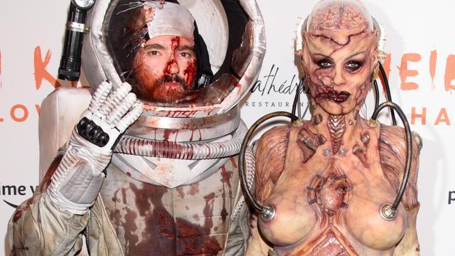 Heidi Klum liet zich voor kostuum inspireren door alienfascinatie van man