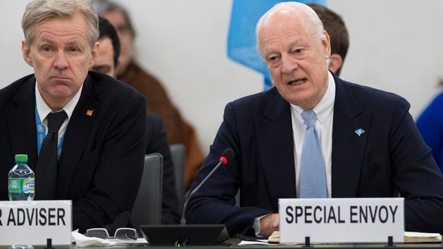 Gezant VN laakt houding regering Syrië bij vredesoverleg