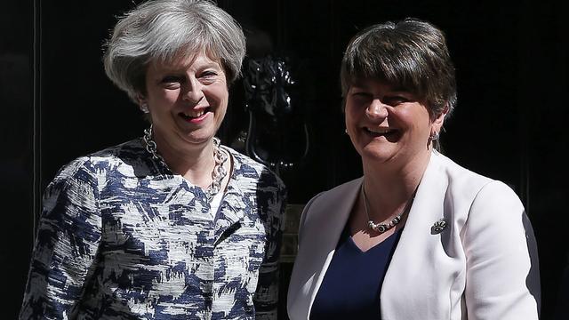 Dit zijn de unionisten van wie premier May gedoogsteun krijgt