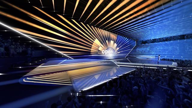 Ontwerp Songfestival-podium geïnspireerd op Nederlands landschap