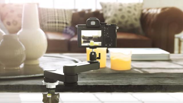 Kleine camera-arm helpt met stabiel filmen op smartphones