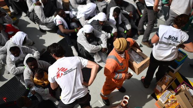 Artsen zonder Grenzen weigert EU-geld om aanpak vluchtelingencrisis