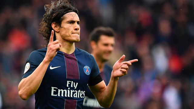 Cavani verlengt contract bij Paris Saint-Germain tot medio 2020