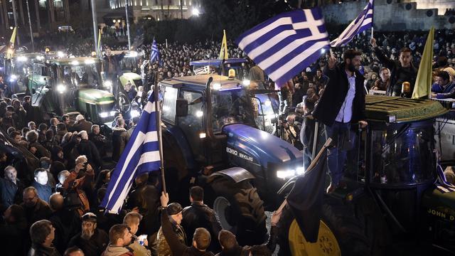 'Europese schuldeisers werken aan plan voor Griekse schuldverlichting'